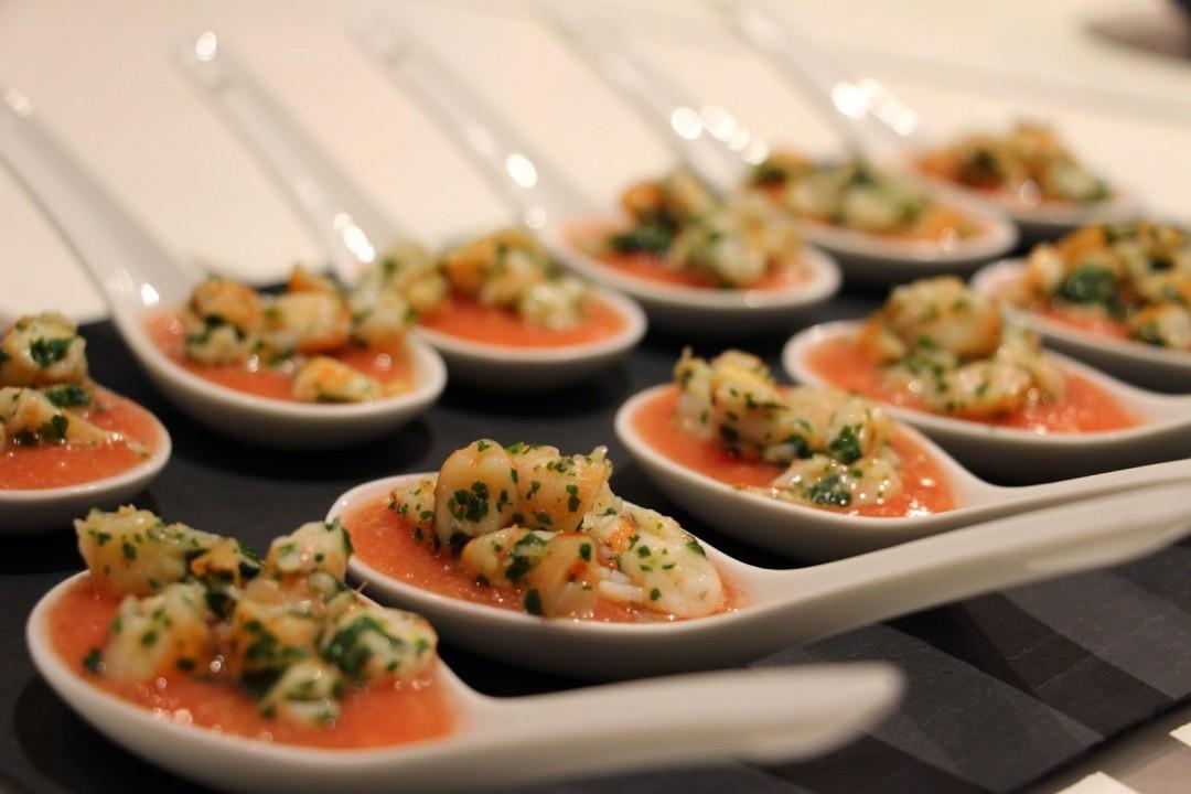 Rougail de tomates aux crevettes