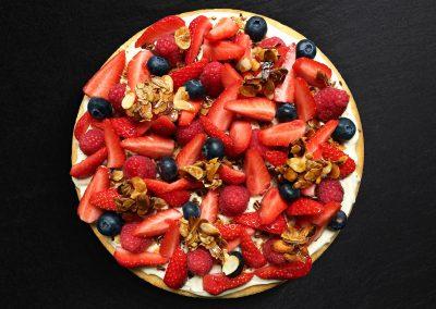 Ma tarte aux fruits rouges