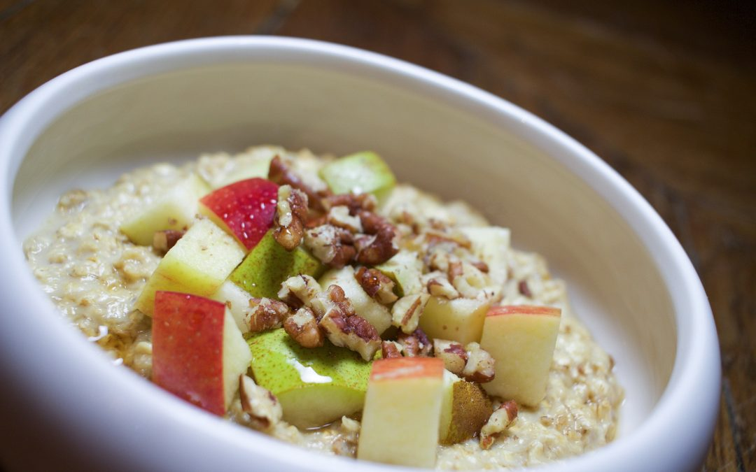 Mon porridge fétiche (inspiration canadienne)