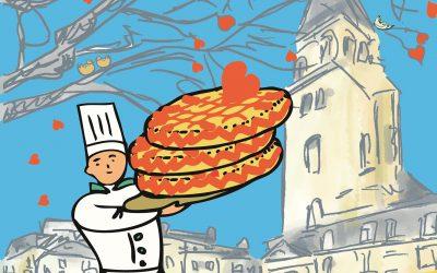 La galette des chefs, la galette du coeur